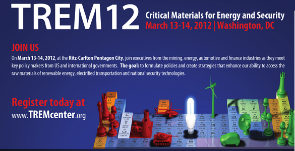 TREM12 AnnouncedMarch 13-14, 2012 in Washington, DC. Click here to Learn More