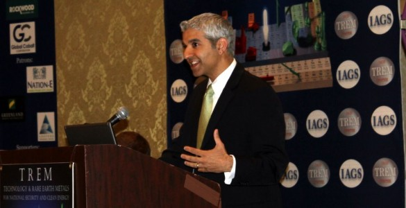 Dr. Cyrus Wadia at TREM11Dr. Wadia is with the White House Office of Science and Technology Policy